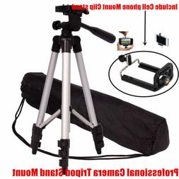 Universal Camera Camcorder Tripod Stand &Mount Clip for Cano