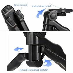 Universal Mini Hand Pistol Grip Tabletop Travel Tripod Stabi