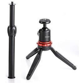 Movo Universal Mini Camera Tripod w/Extendable Pole  Adjusta