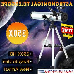 US Reflector Telescope Beginner With Tripod And Eyepieces Du