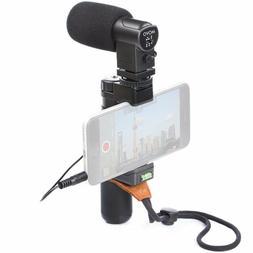 Vlogging Kit Equipment Microphone Hand Grip Wrist Strap Vlog
