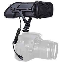 Movo VXR500 HD Professional Condenser X/Y Stereo Video Micro