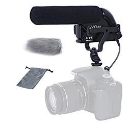 Movo VXR5000 Shotgun Condenser Video Microphone - All-Metal